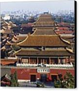 View Of The Forbidden City At Dusk From Canvas Print by Axiom Photographic