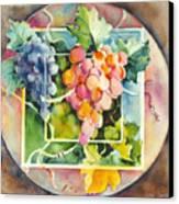 Vineyard Canvas Print by Joan  Jones