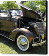 Vintage Chevrolet . 5d16161 Canvas Print by Wingsdomain Art and Photography