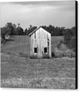 Virginia Shed Canvas Print by Michael L Kimble
