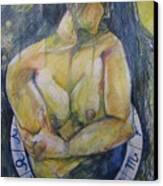 Virgo Canvas Print by Brigitte Hintner