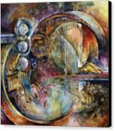 'visions Of Eight' Canvas Print by Michael Lang