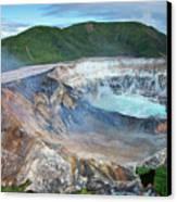 Volcan Poas Canvas Print by Kryssia Campos