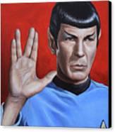 Vulcan Farewell Canvas Print by Kim Lockman