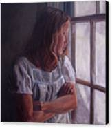 Waiting Canvas Print by Tahirih Goffic