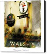 Walsh's Canvas Print by Bob Salo