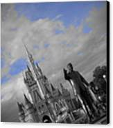 Walt Disney World - Partners Statue Canvas Print by AK Photography
