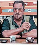Walter Sobchak Canvas Print by Tom Roderick