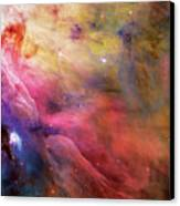 Warmth - Orion Nebula Canvas Print by The  Vault - Jennifer Rondinelli Reilly