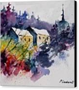 Watercolor 231207 Canvas Print by Pol Ledent