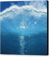 Wave Tube Canvas Print by Ali ONeal - Printscapes