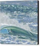 Waverider Canvas Print by Patti Bruce - Printscapes