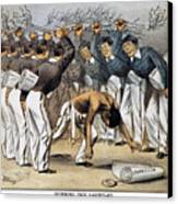 West Point Cartoon, 1880 Canvas Print by Granger