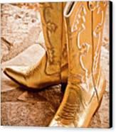 Western Wear Canvas Print by Jill Smith