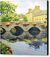 Westport Bridge County Mayo Canvas Print by Conor McGuire