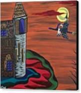 What A Wonderful Night Out Canvas Print by Deidre Firestone