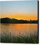 Wilderness Point Sunset Panorama Canvas Print by Gary Eason