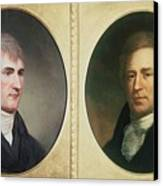 William Clark 1770-1838 And Meriwether Canvas Print by Everett