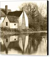 Willy Lots Cottage Canvas Print by Terence Davis
