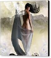 Wind Swept Canvas Print by Crispin  Delgado