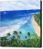 Windblown Canvas Print by Kenneth Grzesik