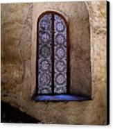Window In Lace Canvas Print by Mexicolors Art Photography