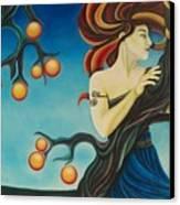 Windswept Eris Canvas Print by Is Art E Studio