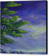 Windy Lake Superior Canvas Print by Joanne Smoley