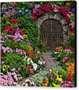 Wine Celler Gates  Canvas Print by Garry Gay