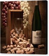 Wine Corks Still Life II Canvas Print by Tom Mc Nemar