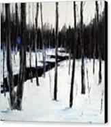 Winter Day Canvas Print by Laura Tasheiko