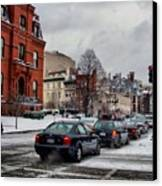 Winter In D.c. Canvas Print by Jimmy Ostgard