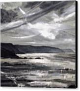 Winter Light Canvas Print by Keran Sunaski Gilmore