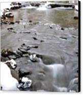 Winter Monongahela National Forest Canvas Print by Thomas R Fletcher