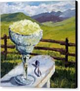 With Salt Canvas Print by Mary Giacomini