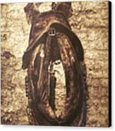 Without Horse Canvas Print by Wim Lanclus