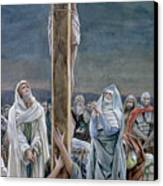 Woman Behold Thy Son Canvas Print by Tissot