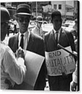 Woolworths Protest, 1963 Canvas Print by Granger