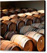 World-class Wine Is Made In California Canvas Print by Christine Till