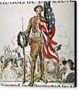 World War I: U.s. Army Canvas Print by Granger