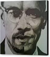 Xobama Canvas Print by Jane Nwagbo