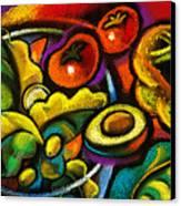 Yammy Salad Canvas Print by Leon Zernitsky