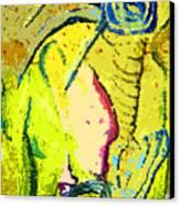 Yello Canvas Print by Mindy Newman
