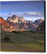 Zion National Park Utah Canvas Print by Utah Images