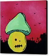 Zombie Mushroom 2 Canvas Print by Jera Sky