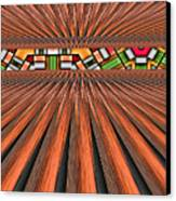 Zoned Canvas Print by Wendy J St Christopher