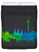 Berlin Germany Duvet Cover by Aged Pixel