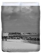 Cape Cod Winter Morning Duvet Cover by Catherine Reusch  Daley