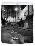 Chinatown New York City - Doyers street Duvet Cover by Gary Heller
