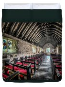 Church Of St Mary Duvet Cover by Adrian Evans